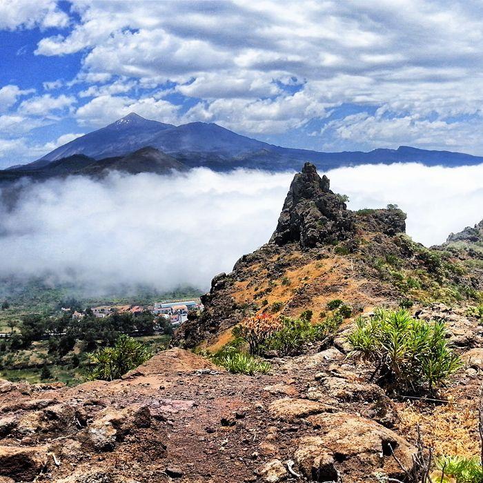 Tenerife - beautiful volcanic island! Mor photos from Tenerife http://www.digitalphoto.pl/foto-blog/gallery/12-Trip_to_Tenerife.php #Tenerife #Teide #Canary #Landscape