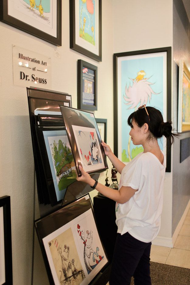 3. Invest in artwork by Dr. Seuss. | 18 Things You Didn't Know You Could Do In San Diego