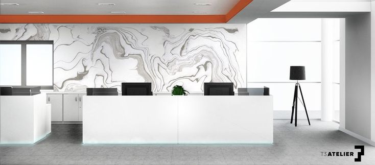 Nasz najnowszy projekt przestrzeni biurowej autorstwa Uli i Moniki. Meble BALMA VANK i NOTI w biało-czarno-pomarańczowym zestawieniu. Więcej na: https://t3inwest.pl/biuro-pelne-swiatla-projekt-wnetrz