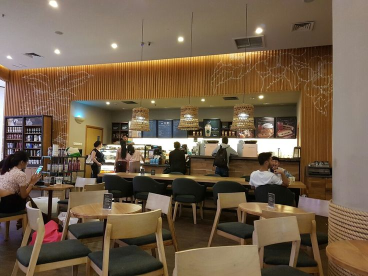 Starbucks Kuningan City. Jakarta. After renovation.  May 15th, 2017