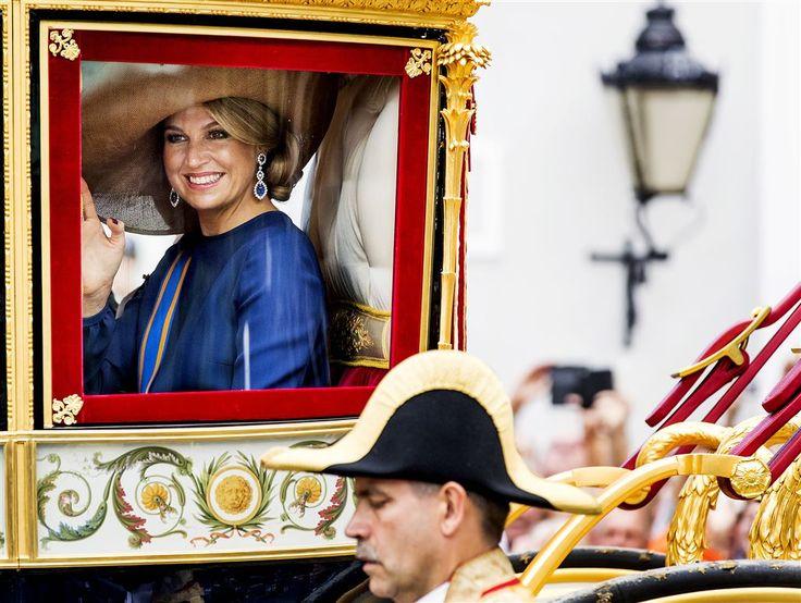 DEN HAAG - De Glazen Koets en de hoed van koningin Máxima waren dinsdag het…