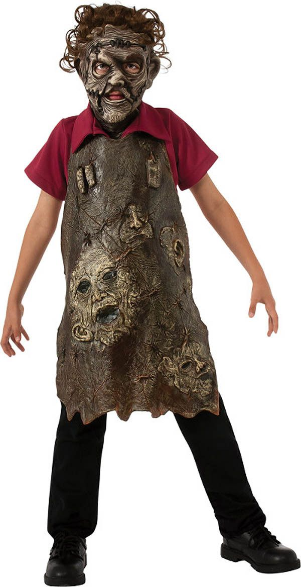 Texas Chainsaw Massacre Leatherface Costume Apron Of Souls Child