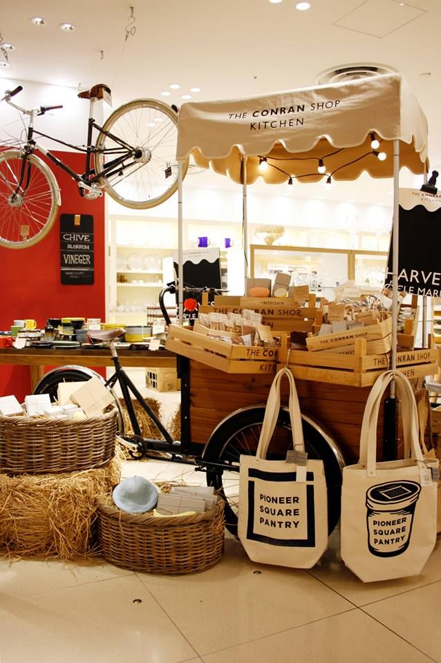 Harvest Cycle Market at The Conran Shop Kitchen