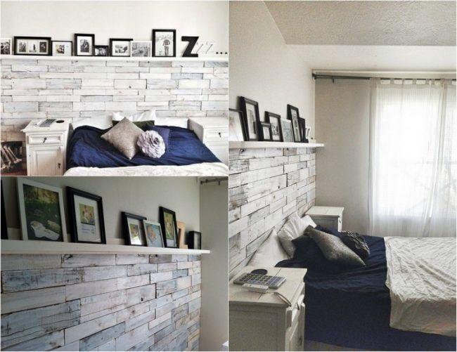 Die besten 25+ Holzpaletten bett Ideen auf Pinterest Europalette - schlafzimmer landhaus weiss