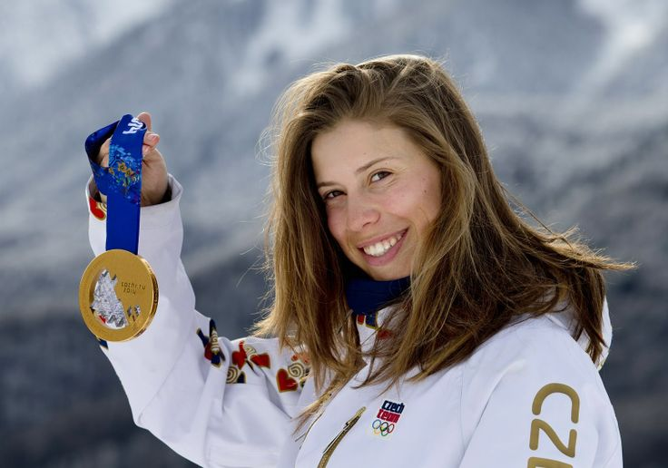 Česká snowboardistka Eva Samková