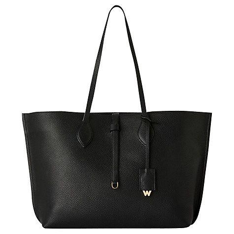 Buy Whistles Regent Soft Leather Tote Bag Online at johnlewis.com