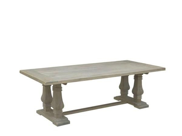 Timber Pedestal Dining Table