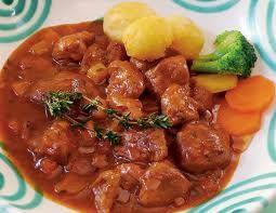 Gulasch  - Hungarian, Austrian Beef Stew;German Recipe, Gulasch, Goulash Recipe, Beef Recipe, Beef Stews, Food Beef, Austrian Beef