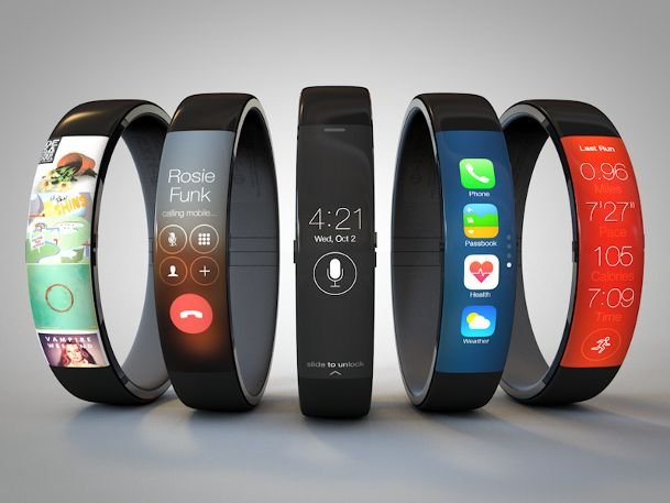 The Times expects the iWatch to feature a curved-glass display and to connect to the iPhone. The publication says the device will run a cust...