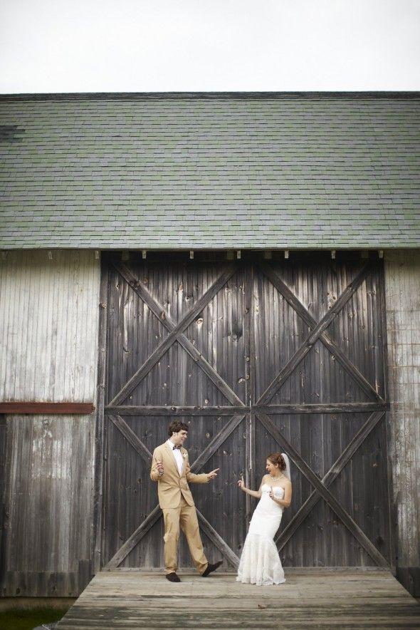 "Michelle New York Brides'- Wedding Day featuring Leslie & Ben as seen on ""Rustic Wedding Chic"" Blog. (www.rusticwedding...)"