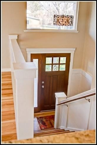 add some trim for a more colonial look