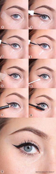 Wingtip Eyes In 5 Mins #Beauty #Musely #Tip