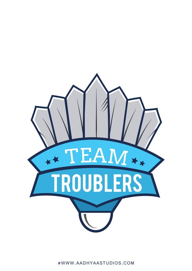 Logo design for a badminton league team. | Just take a