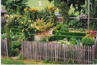 prächtiger Bauerngarten