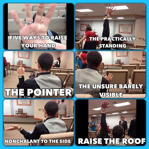 Haha raise the roof!