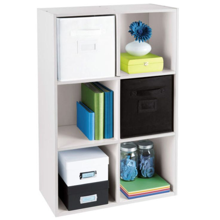 103 best craftroom organization cubes bookcases images on for Recollections craft room storage amazon