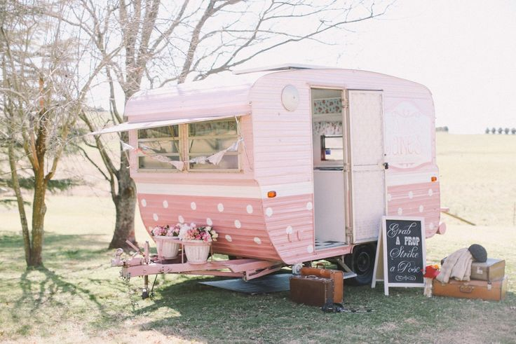 Vintage Caravan. I will have one like this someday. So cool for camping! PINKAHOLIC GOLD : FOLLOWING APRIL