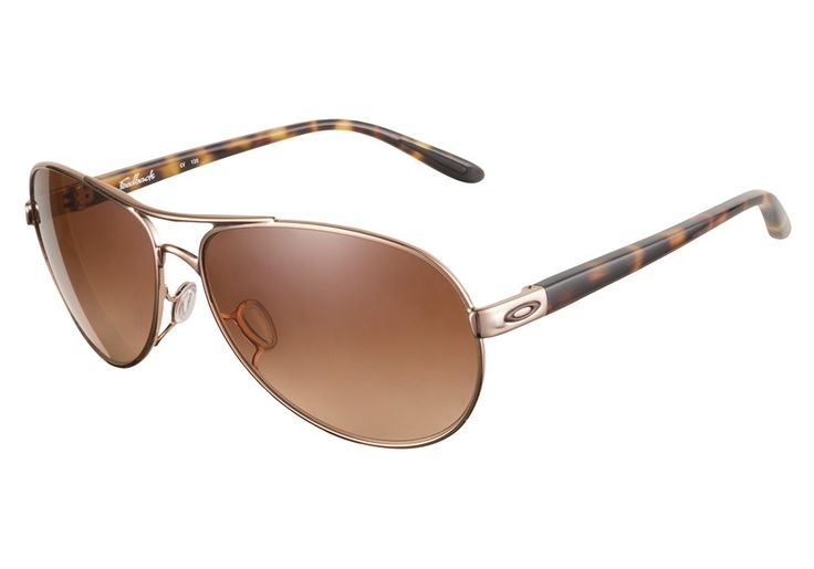 Oakley Feedback 4079 01 Rose Gold sunglasses are designed for an active lifestyle. This feminine aviator shape features great eye coverage, a snug fit and no-snag nose pads. The no-snag nose pads stop from @CoastalDotCom
