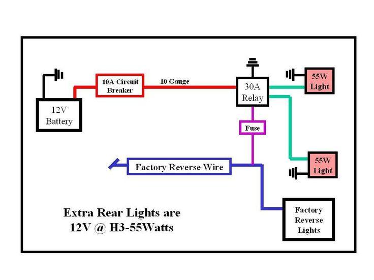 light wiring diagram diagram