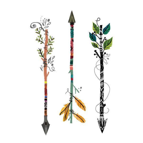 3 Mystic Arrows not metallic