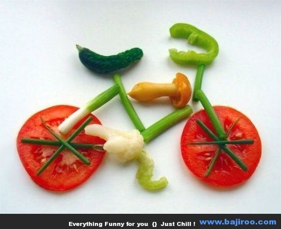 funny food creation designs food art funny images bajiroo pictures 7 Funny Food Art You Can Try at Home (36 Photos)