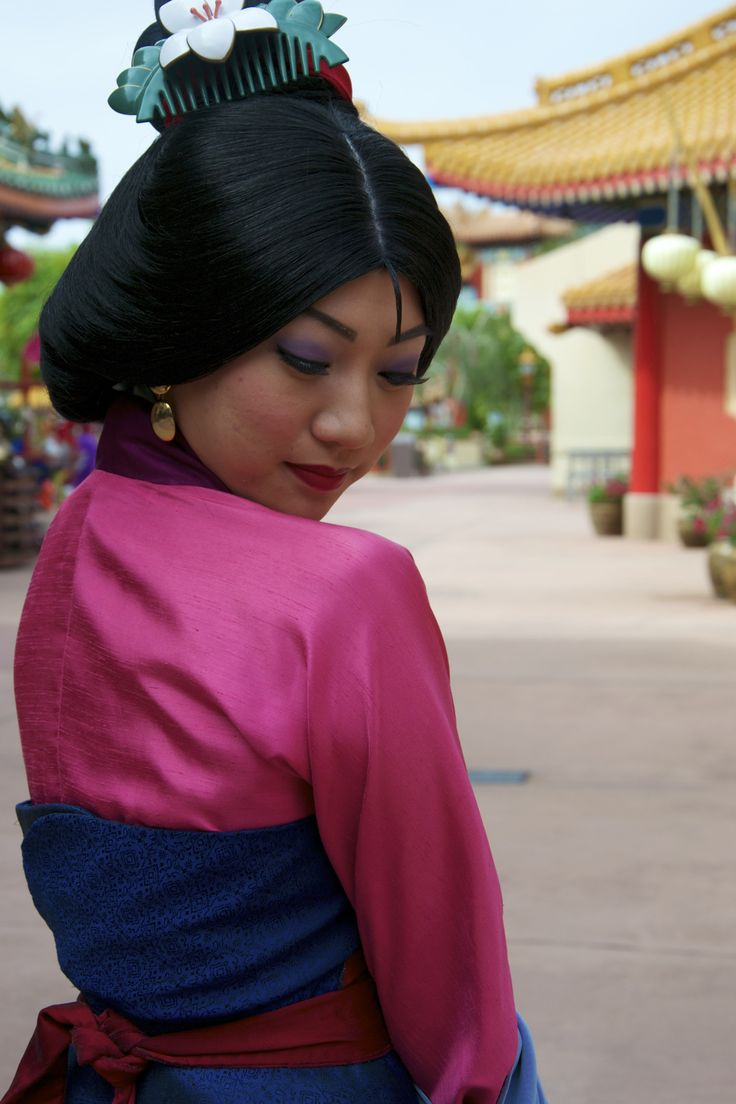 Mulan at the China Pavilion in EPCOT World Showcase - Walt Disney World
