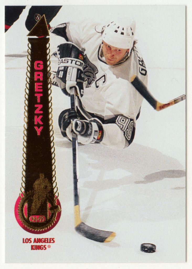 Wayne Gretzky # 200 - 1994-95 Pinnacle Hockey
