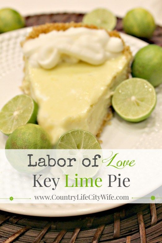 Grab the free printable recipe card for this Labor of Love Key Lime Pie Recipe by a South Florida Native. This key lime pis is the real deal!