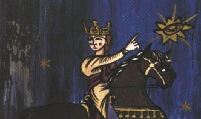 OVNIS en el arte: Annales Laurissenses (S XII)
