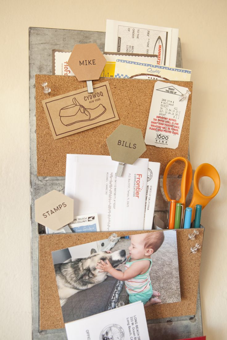 Keep your family on-track and organized! Keep all your ideas, mail and lists in one place with our DIY organizer. This is a fun project that will keep your home neat and tidy, while still looking beautiful. Click-in for step-by-step instructions.