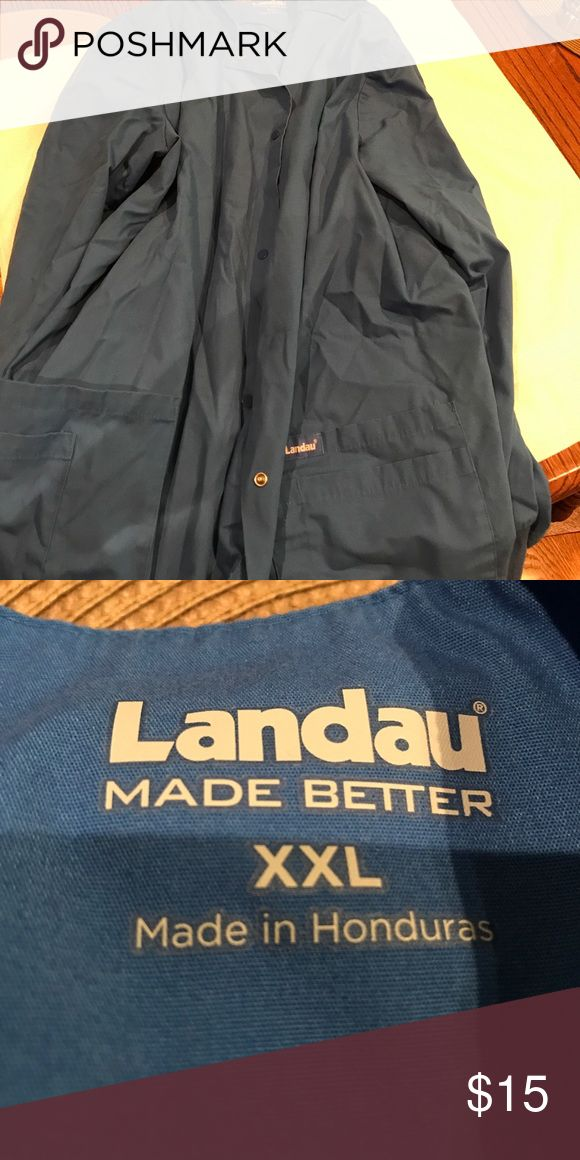 Bundle of 2 Landau scrub jackets size XXL 1 Jacket is NWOT and 1 is used Landau Other