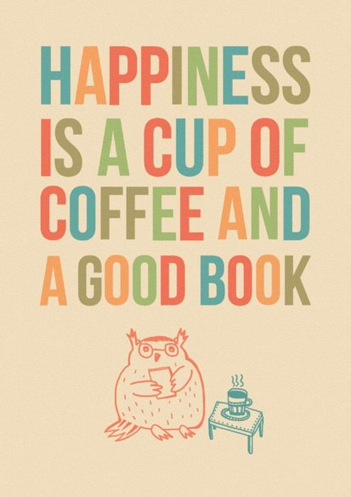 -reading...and coffee!! ;)