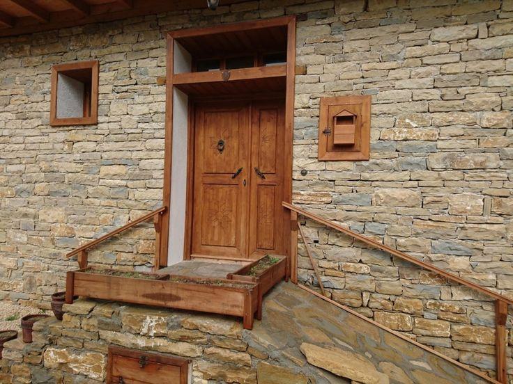 Tek katlı doğal taş ev (14)