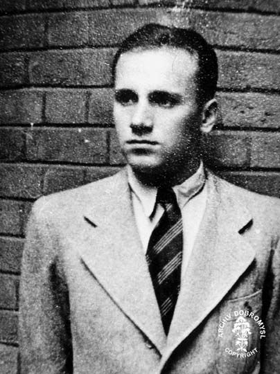 František Pavelka, the second Czechoslovak parachutist dropped on the night of 3rd to 4th October 1941 for an Operation code-named PERCENTAGE. The Gestapo captured him several days later and he was executed by beheading in Berlin.