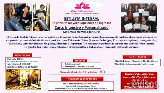 "Curso Alta Peluquería "" Estilista Integral""  ESTILISTA INTEGRAL EN Instituto Llano Subercaseaux ""C ..  http://santiago-city-2.evisos.cl/curso-alta-peluquera-a-estilista-integral-id-639901"