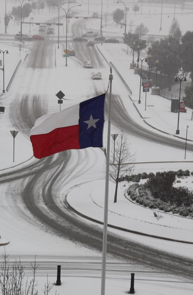 more snow....2/27/15 This is actually in Arlington, TX