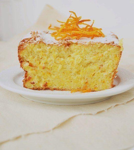 Апельсиновый кекс.