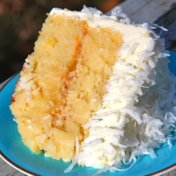 Coconut Pineapple Cake Recipe | Bakepedia