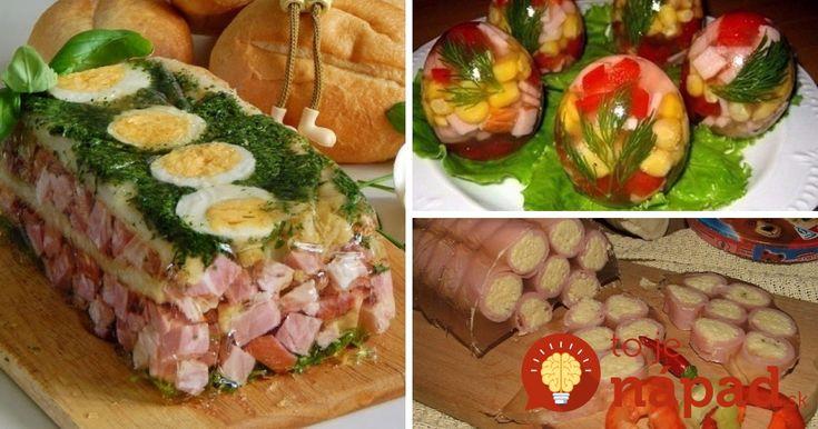 """Skvelé pohostenie na veľkonočný stôl: 3 tipy na slané """"želé"""" chuťovky!"""