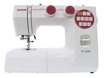 Macchina per cucire Janome IT1028 - Macchina per cucire meccanica a braccio libero.