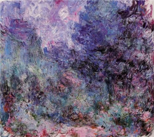 "Claude Monet, ""The House Seen from the Rose Garden 3"""