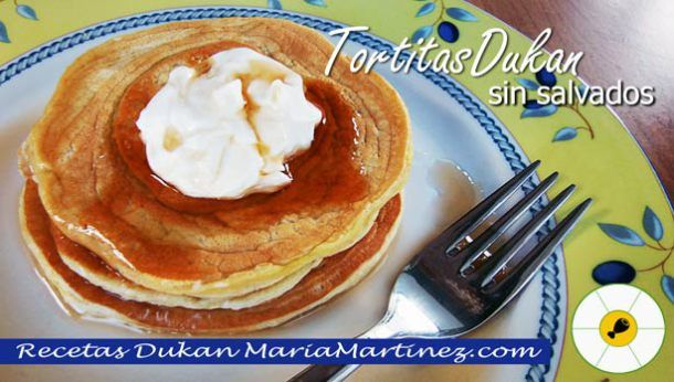 Desayuno Dukan fase Ataque: Tortitas sin salvados ni tolerados