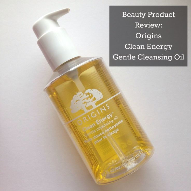 PRODUCT REVIEW   Origins Clean Energy Gentle Cleansing Oil is a must-have!!