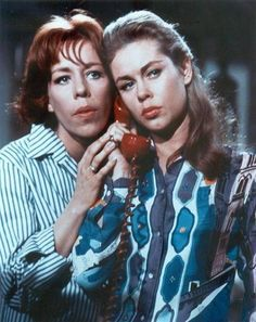 Elizabeth Montgomery and Carol Burnett - Who's Been Sleeping in My Bed (1963)