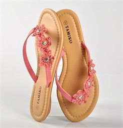 Chaussures FEMME - TONGS ROSE - TAMIKO - Chaussures Desmazieres