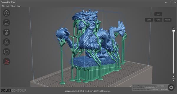 Reify 3D introduces new Contour software for Solus DLP 3D printer