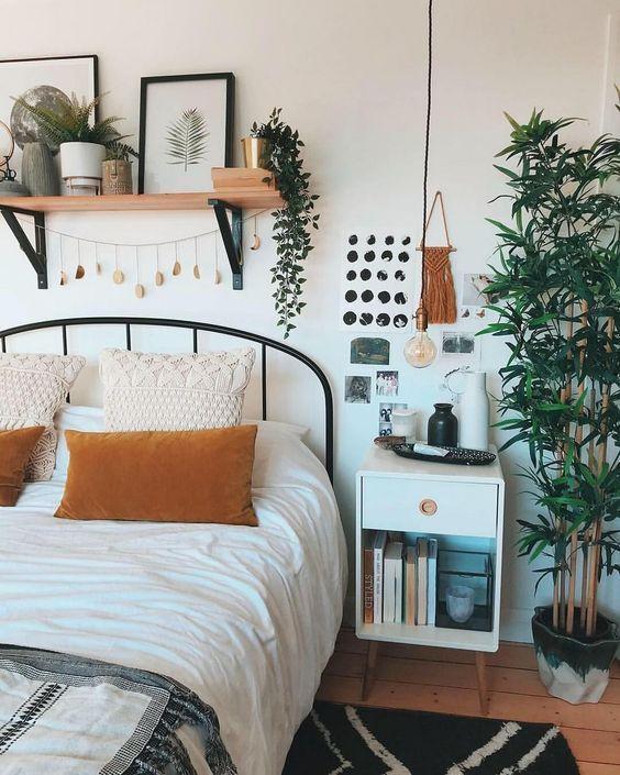 Schlafzimmer, Schlafzimmerdekoration; Kleines Schlafzimmer; Ruhezone; Dekorationsstil; Zu Hau…