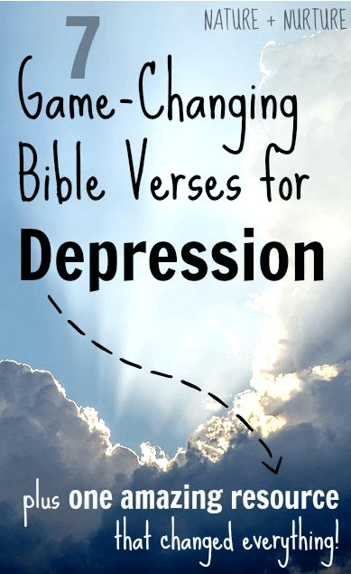 These bible verses for depression have changed my life. In this post, I want to help show you how to believe what God says and hide His Word in your heart so you can win against depression. Read the post to see the verses and learn about another great resource!