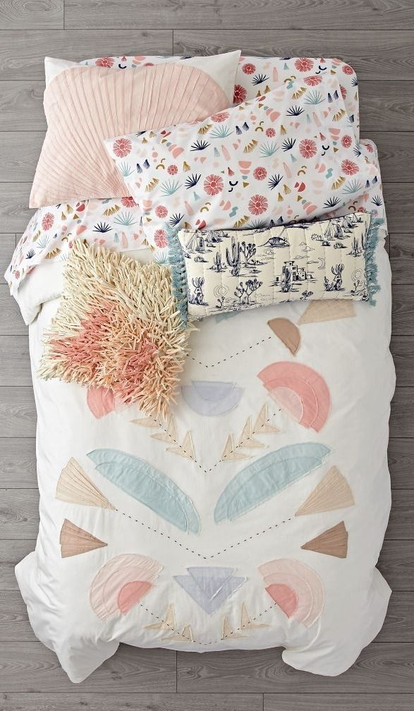 Shop Desert Flora Bedding.  Our Desert Flora Bedding effortlessly creates a bedroom with plenty of breezy Southwestern style.