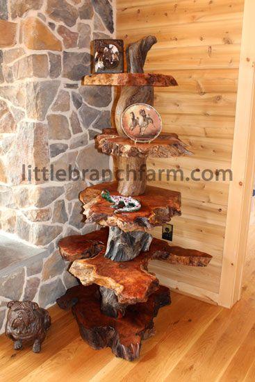 Rustic Burl Wood Bedroom Furniture: 17 Best Images About Burl Wood Furniture On Pinterest